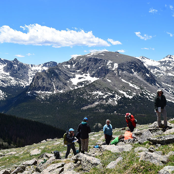 Rocky Mountain National Park Training, courtesy of Erica Prather