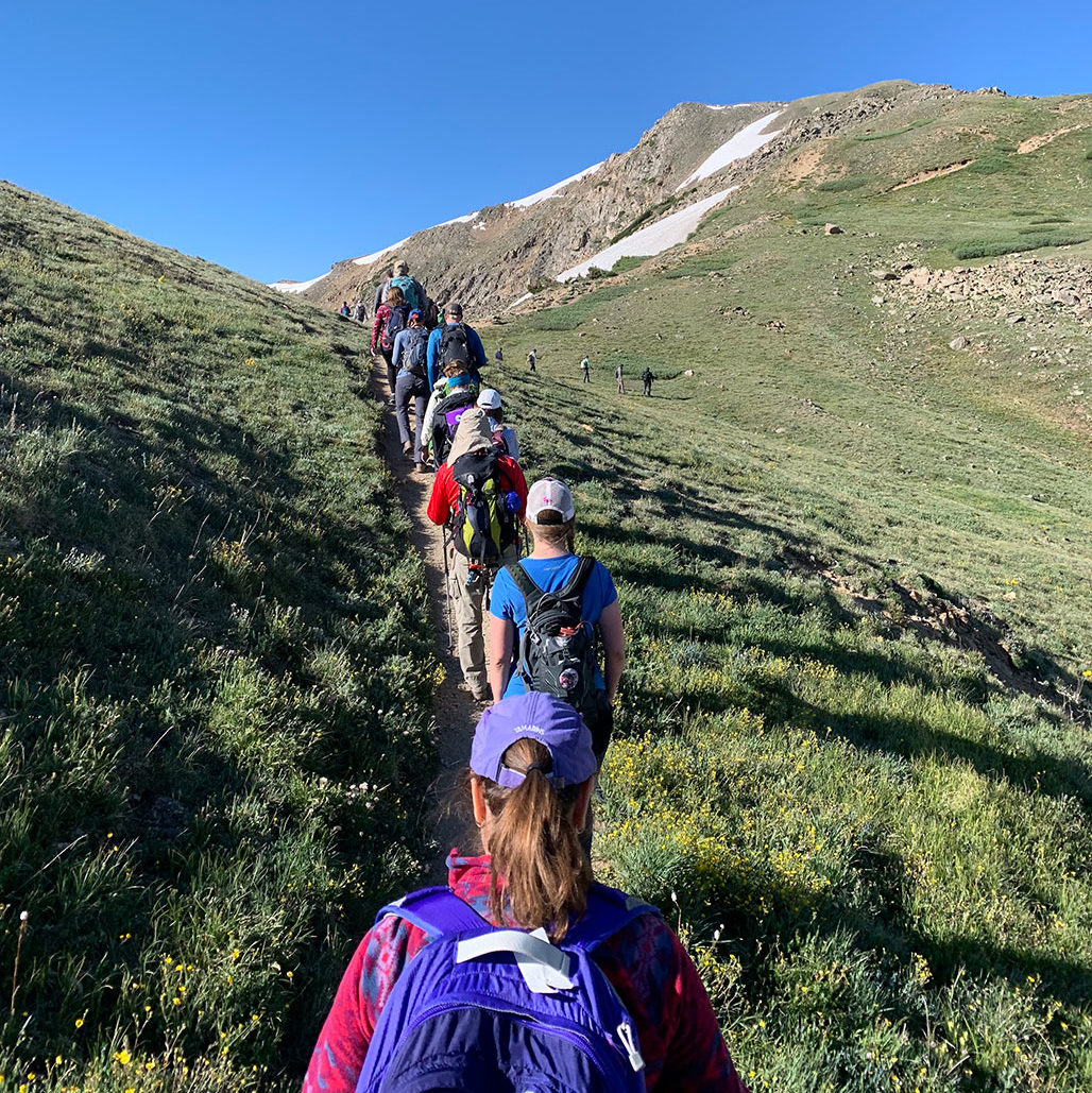 Volunteers at Loveland Pass, courtesy of Sarah Colbert